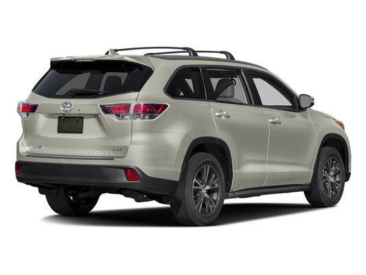 2016 Toyota Highlander XLE V6